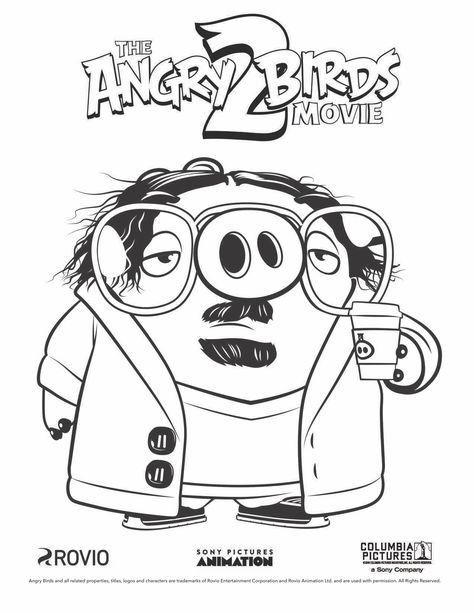 angry birds 2 coloring pages angry birds season coloring pages team colors 2 birds pages angry coloring