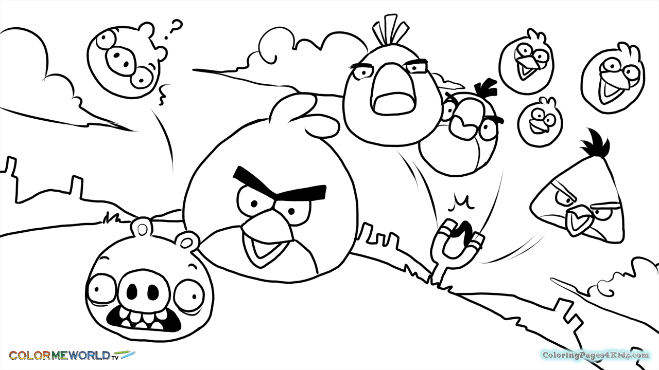 angry birds coloring angry birds coloring pages for kids free printable coloring birds angry