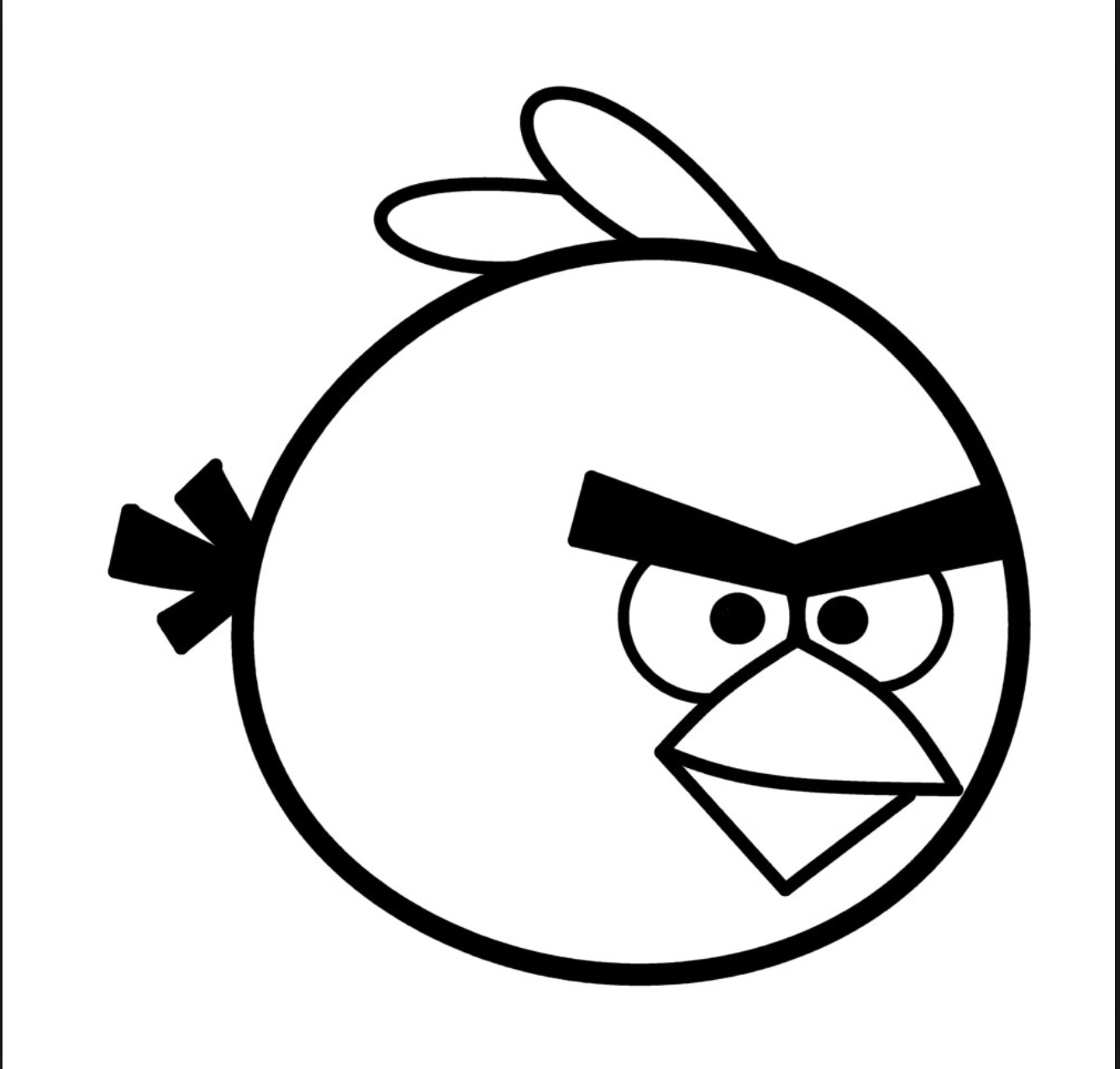 angry birds outline pictures angry birds coloring pages 13 bird coloring pages outline birds angry pictures