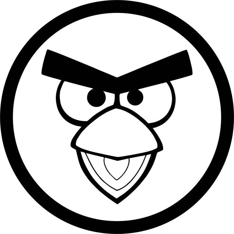 angry birds outline pictures bird clipart black and white free download on clipartmag birds pictures outline angry