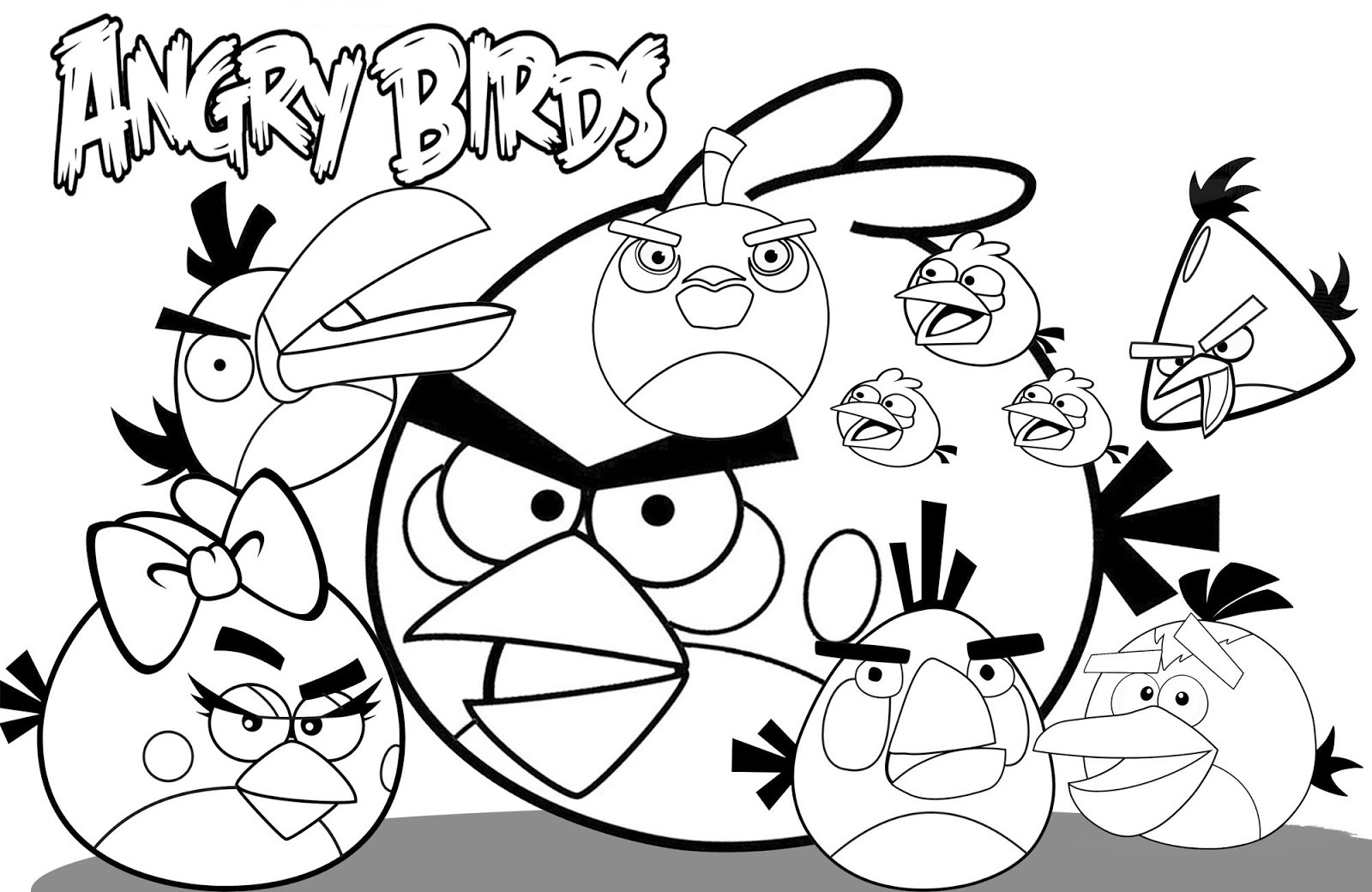 angry birds pictures to print angry birds coloring pages for your small kids pictures birds to print angry