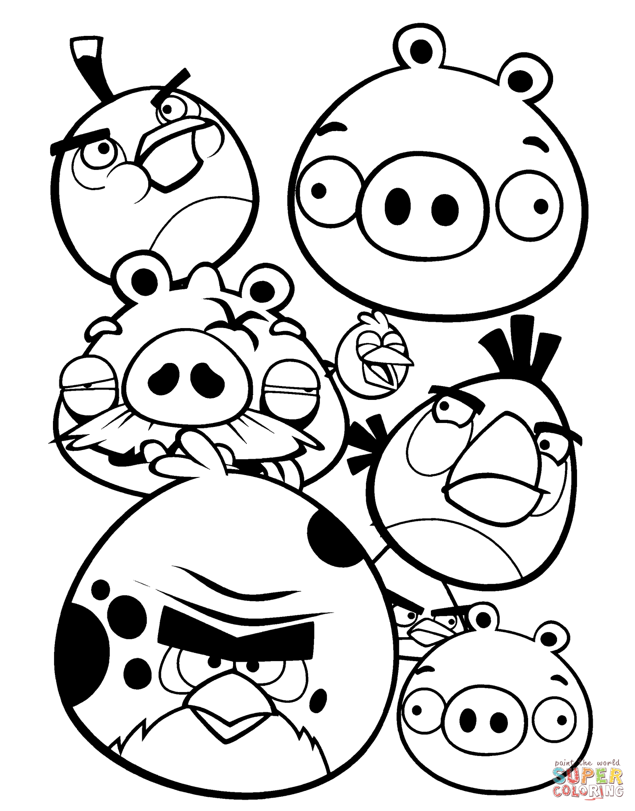angry birds pictures to print angry birds kids coloring pages free printable kids to pictures birds print angry