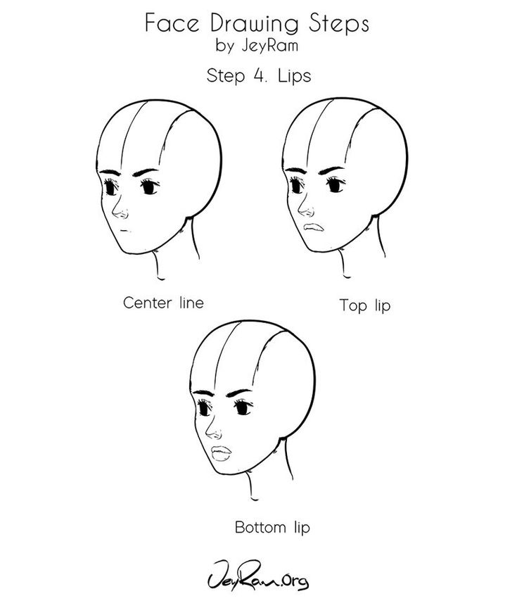 anime drawings step by step how to draw a female face step by step tutorial for anime step by drawings step