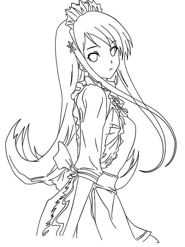 anime girl coloring pages to print anime vampire girl coloring pages coloring home girl coloring anime print to pages