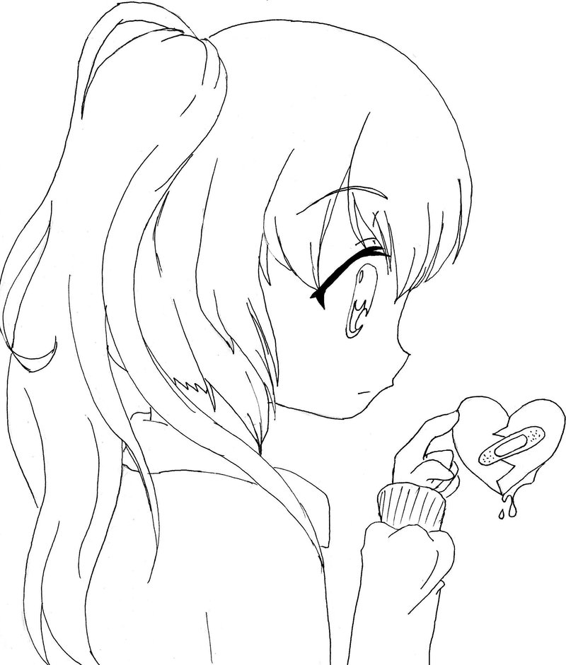 anime girl coloring pages to print click on a picture to make it larger then print it out to anime print girl pages coloring