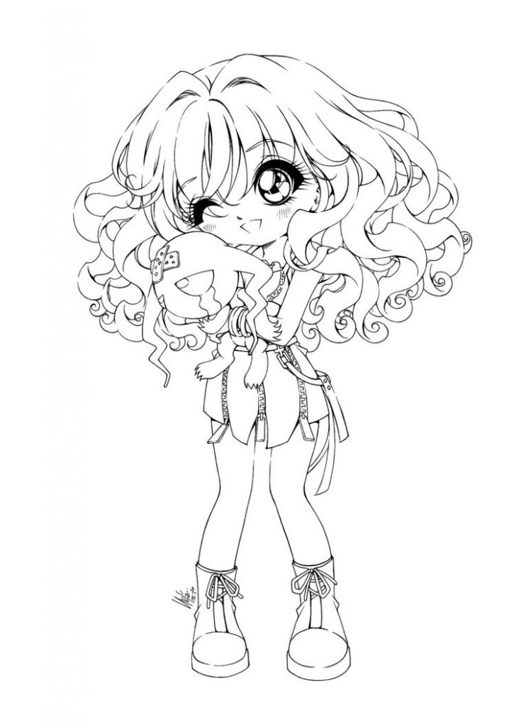 anime girl coloring pages to print kids page anime 123 coloring pages print coloring anime girl to pages
