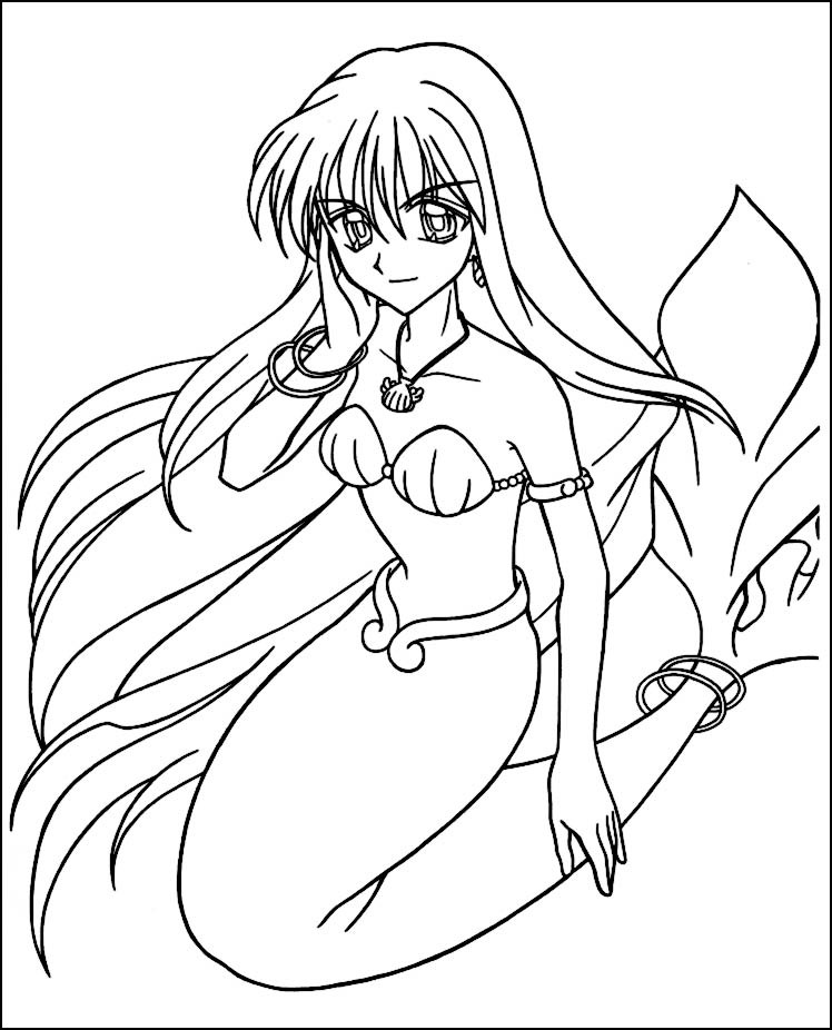 anime mermaid girl coloring pages anime mermaid coloring pages az coloring pages mermaid coloring girl pages anime mermaid