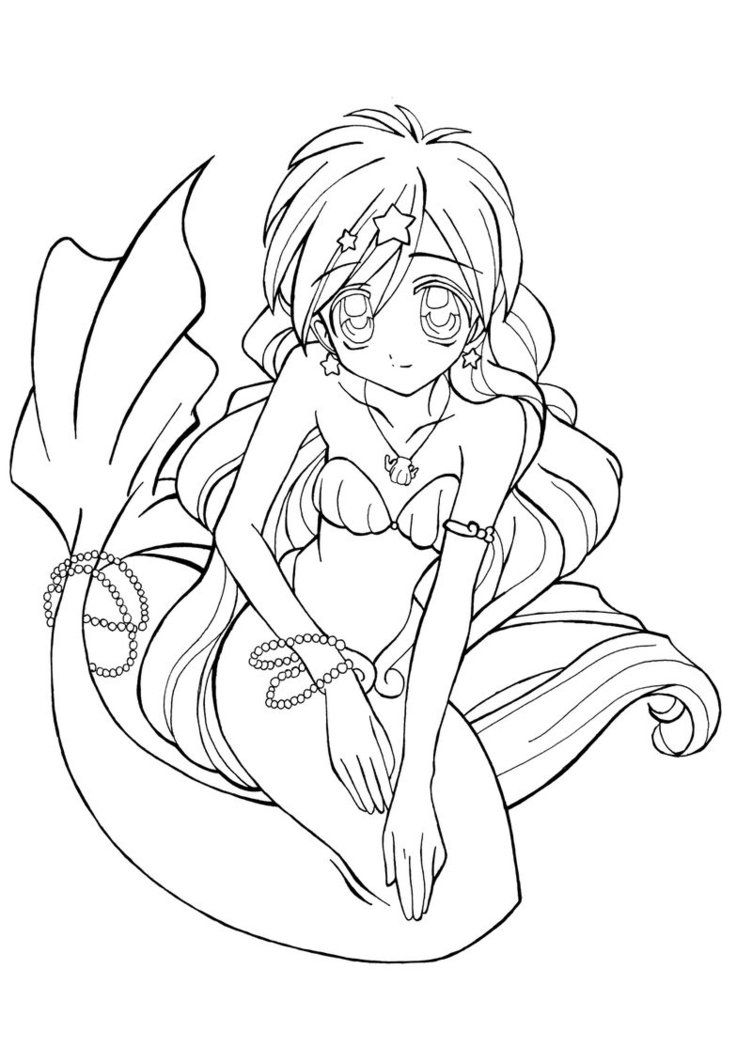 anime mermaid girl coloring pages anime mermaid coloring pages coloring pages to download girl anime pages mermaid coloring