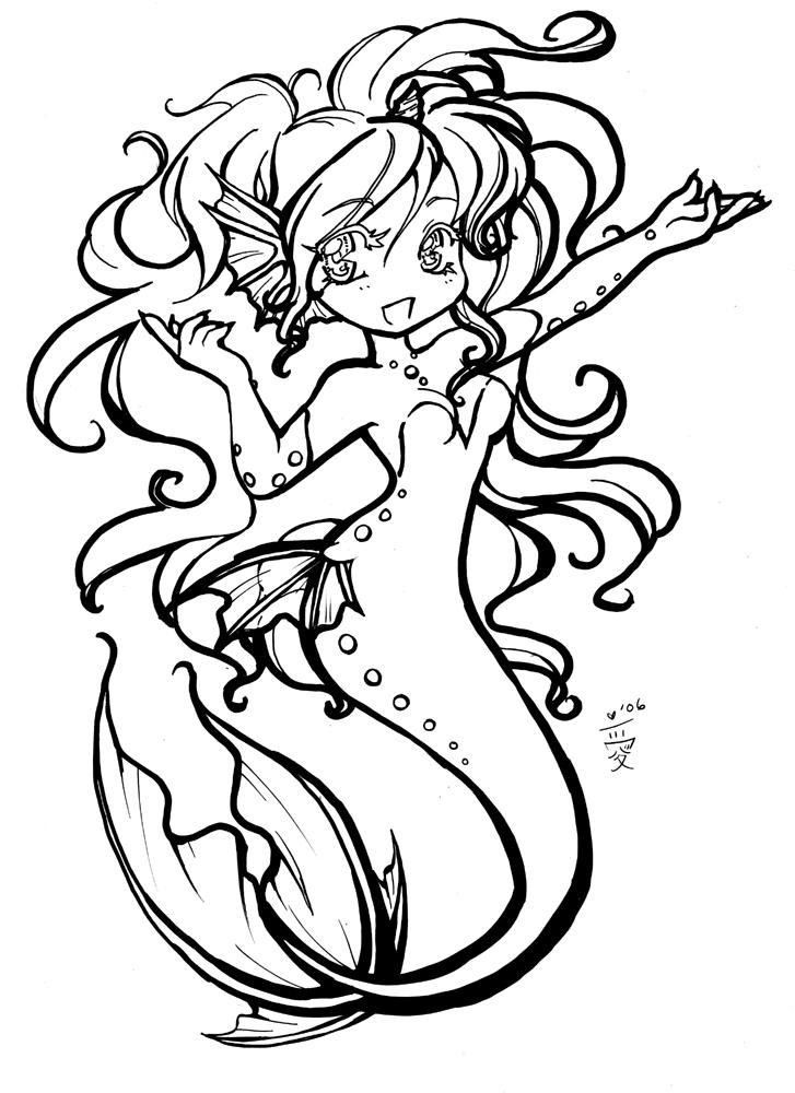 anime mermaid girl coloring pages anime mermaid coloring pages for girls mermaid coloring girl coloring pages anime mermaid