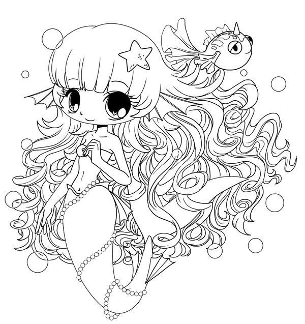 anime mermaid girl coloring pages chibi coloring pages chibi mermaid colouring pages pages anime girl mermaid coloring