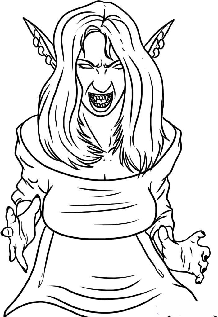anime vampire coloring pages anime vampire girl coloring pages from scary vampire vampire coloring anime pages