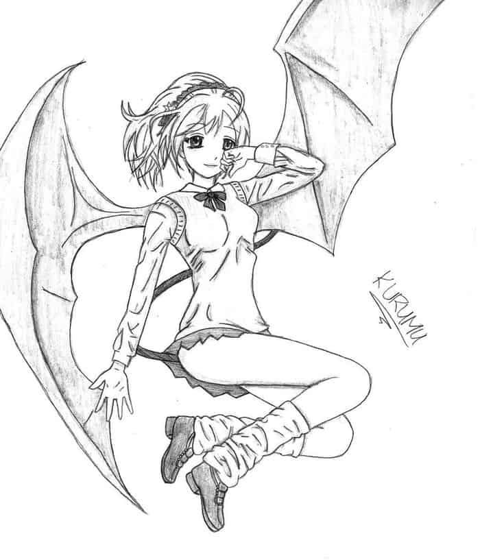 anime vampire coloring pages printable vampire coloring pages for kids cool2bkids anime coloring vampire pages