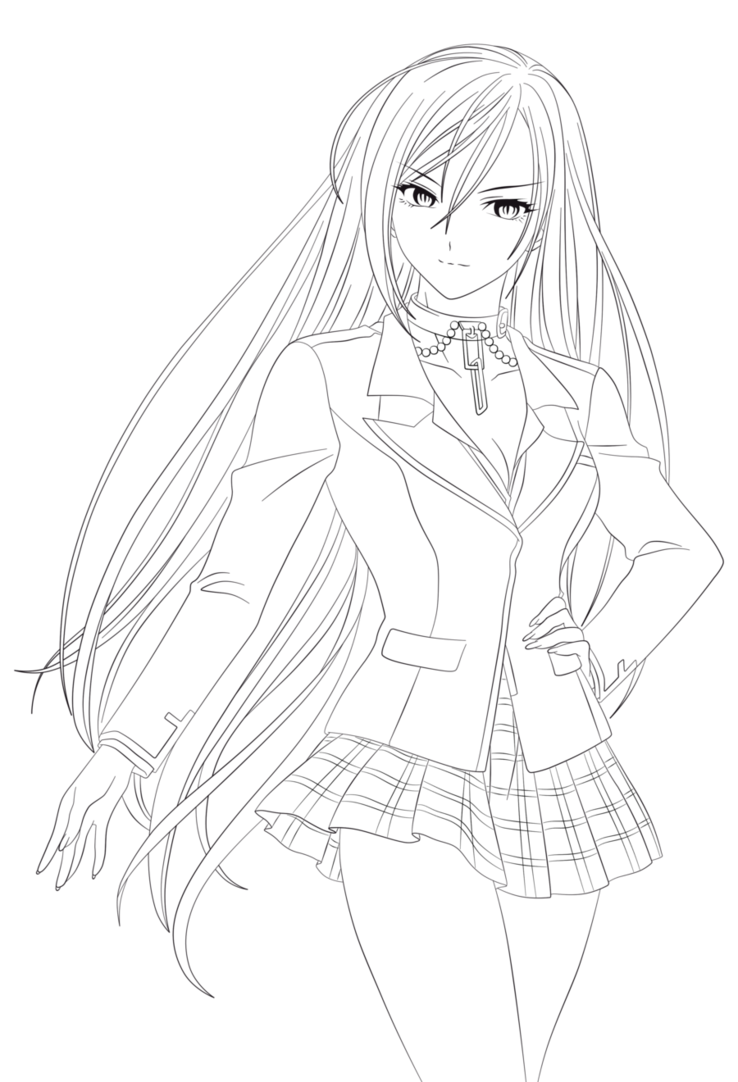 anime vampire coloring pages zero vampire knight by menanie605 on deviantart coloring anime pages vampire