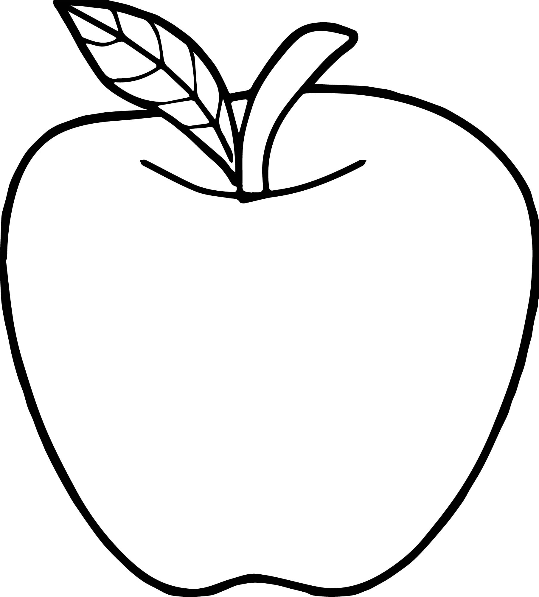apple pictures to color apple line drawing at getdrawings free download color apple to pictures