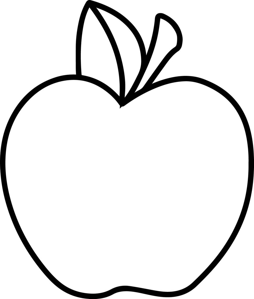 apple pictures to color free printable apple coloring pages for kids to apple pictures color