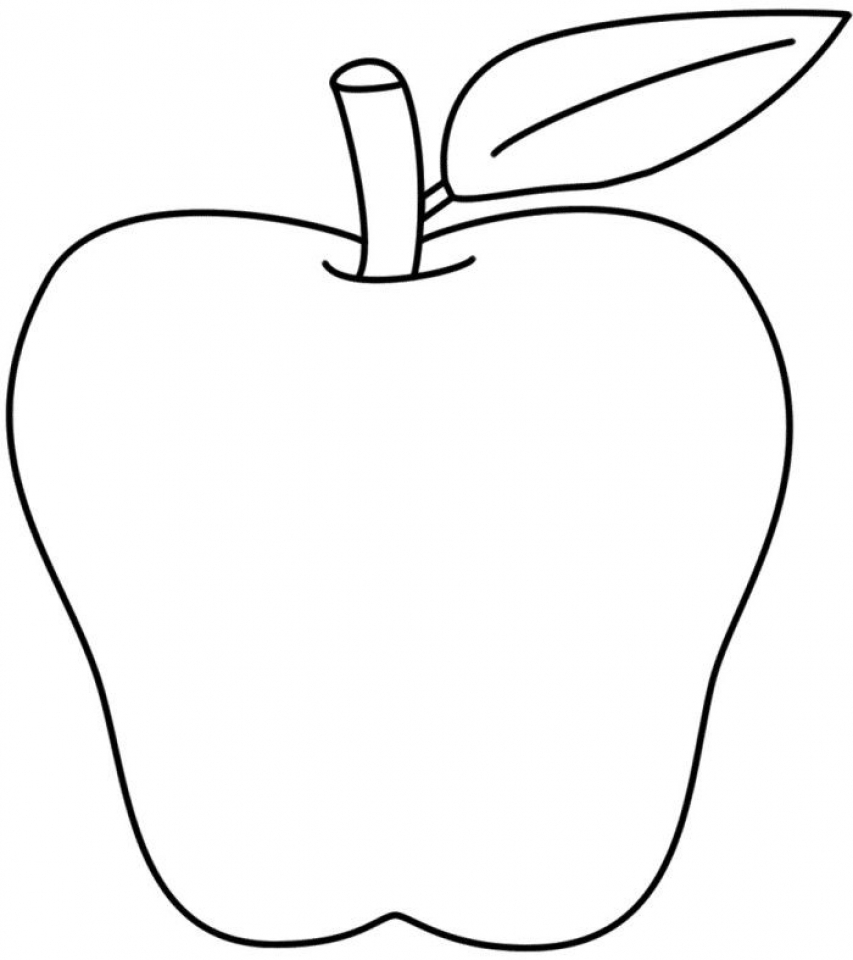 apple pictures to color free printable apple coloring pages for kids to pictures color apple