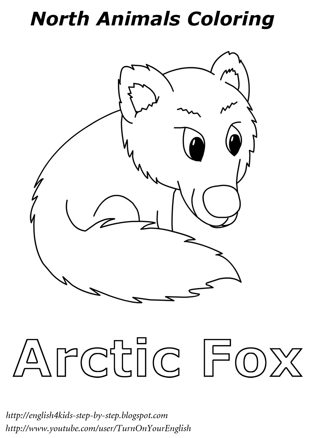 arctic animals coloring pages arctic animals song for children coloring pages animals arctic