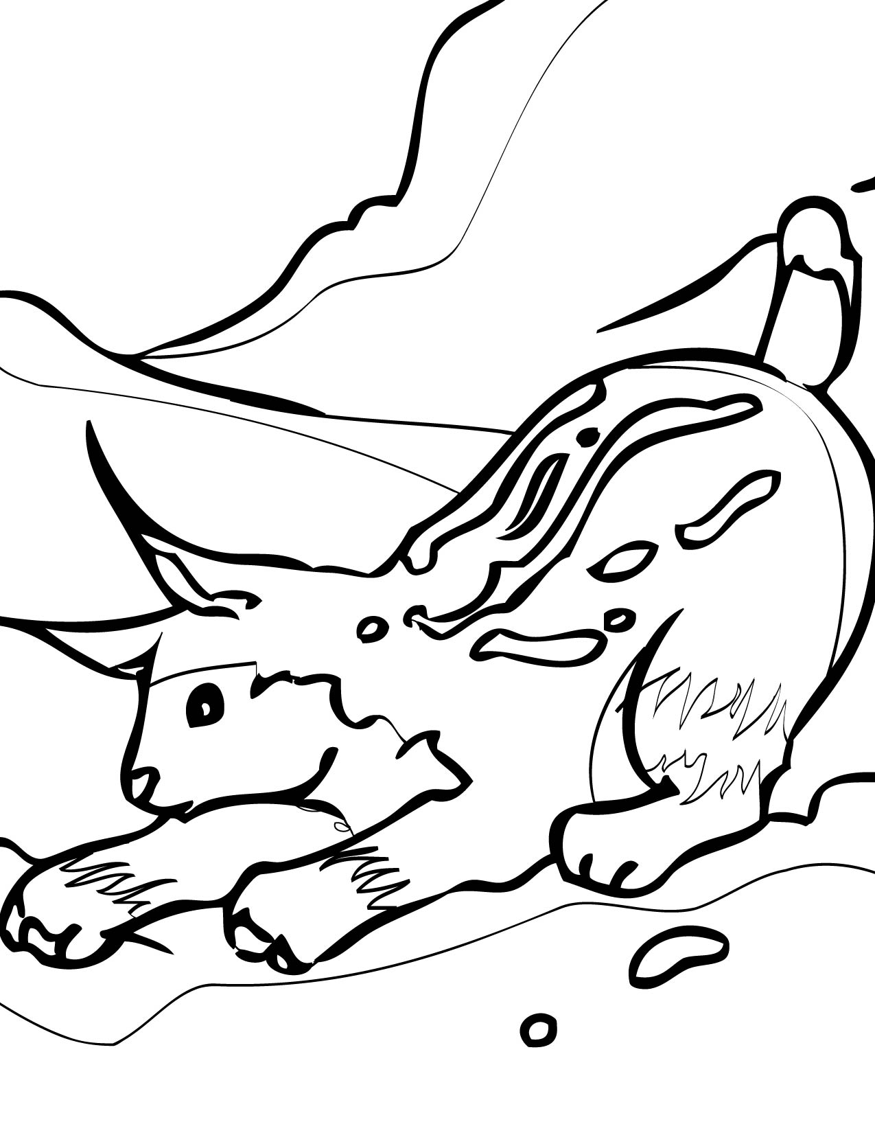 arctic animals coloring pages free printable arctic animals coloring pages coloring home arctic coloring animals pages