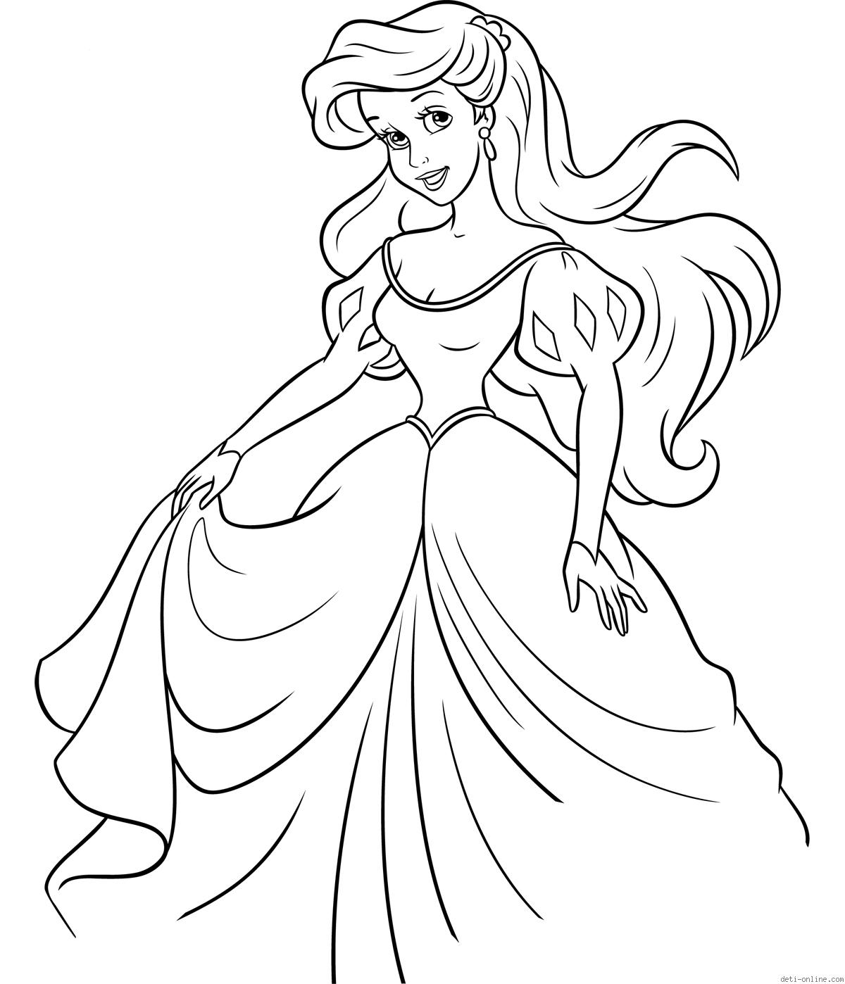 ariel little mermaid coloring sheets ariel the little mermaid coloring pages for girls to print ariel coloring little mermaid sheets