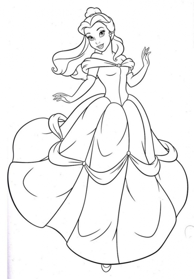 ariel princess colouring pages get this disney princess belle coloring pages online 73518 pages princess ariel colouring