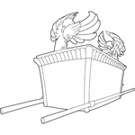 ark of the covenant coloring page ark of the covenant coloring page of the ark covenant coloring page