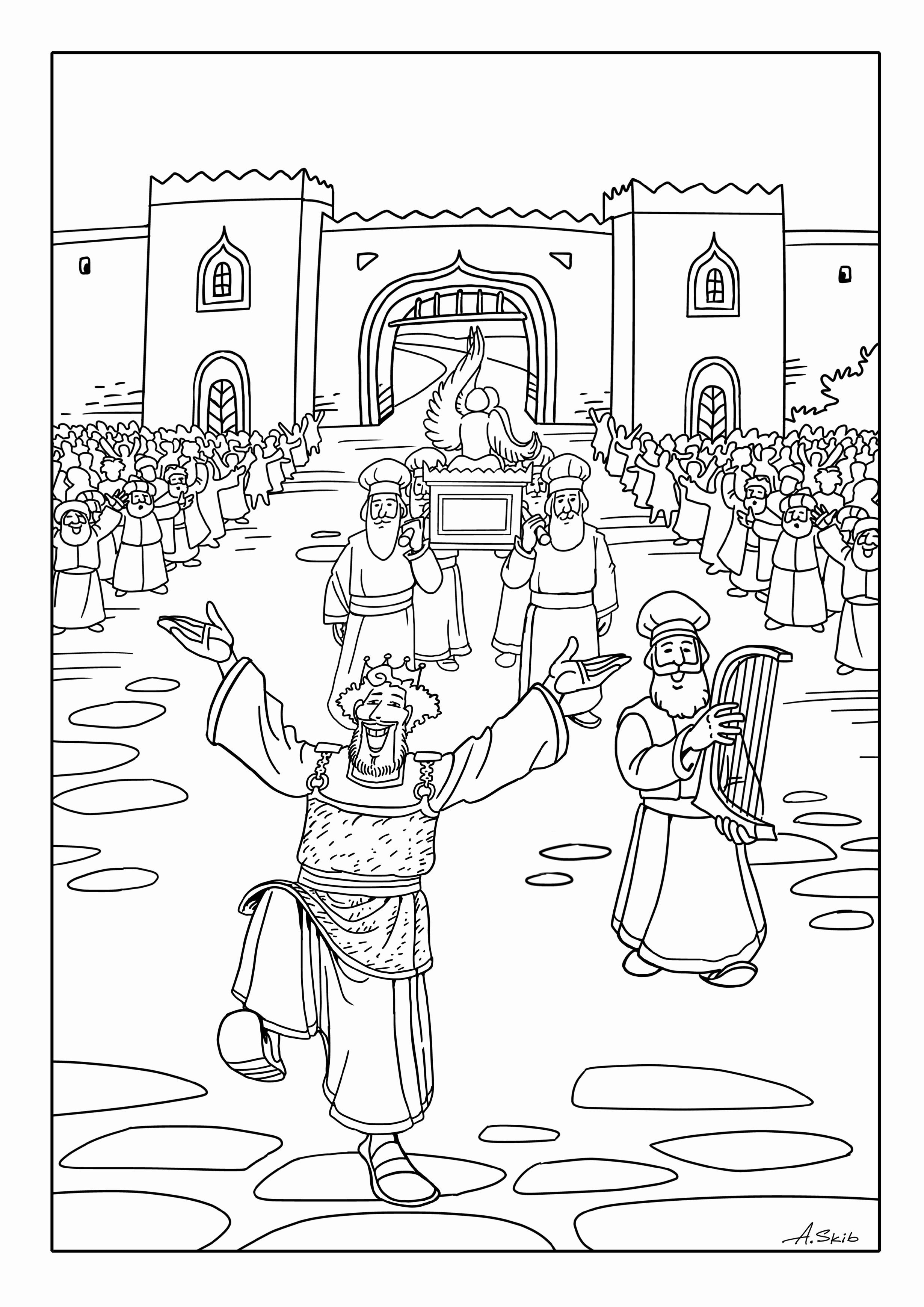 ark of the covenant coloring page ark of the covenant free coloring pages coloring the page covenant of ark