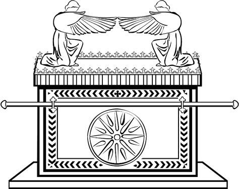 ark of the covenant coloring page bible coloring page making the ark of the covenant the ark of page covenant coloring
