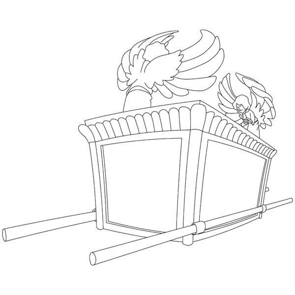ark of the covenant coloring page the ark of covenant coloring page ark coloring page el page of ark the covenant coloring