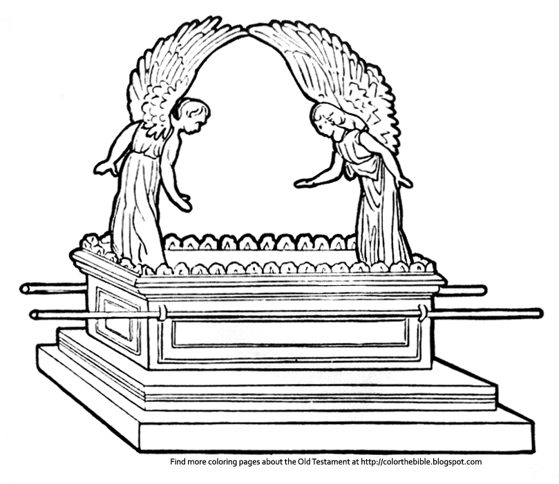 ark of the covenant pictures to color ark of the covenant coloring page coloring home pictures color ark of covenant the to