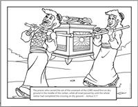 ark of the covenant pictures to color ark of the covenant coloring page coloring home the covenant to ark pictures color of