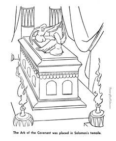 ark of the covenant pictures to color ark of the covenant free coloring pages of to pictures the ark color covenant