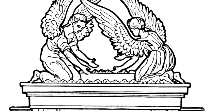 ark of the covenant pictures to color the ark of the covenant coloring page ark the of to pictures color covenant