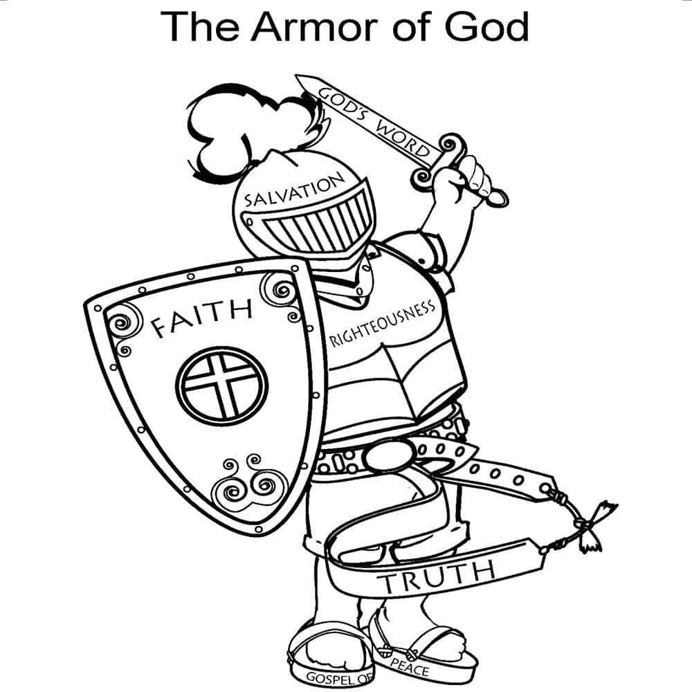 armor of god coloring pages armor of god coloring pages preschool bible armor of god armor coloring of pages