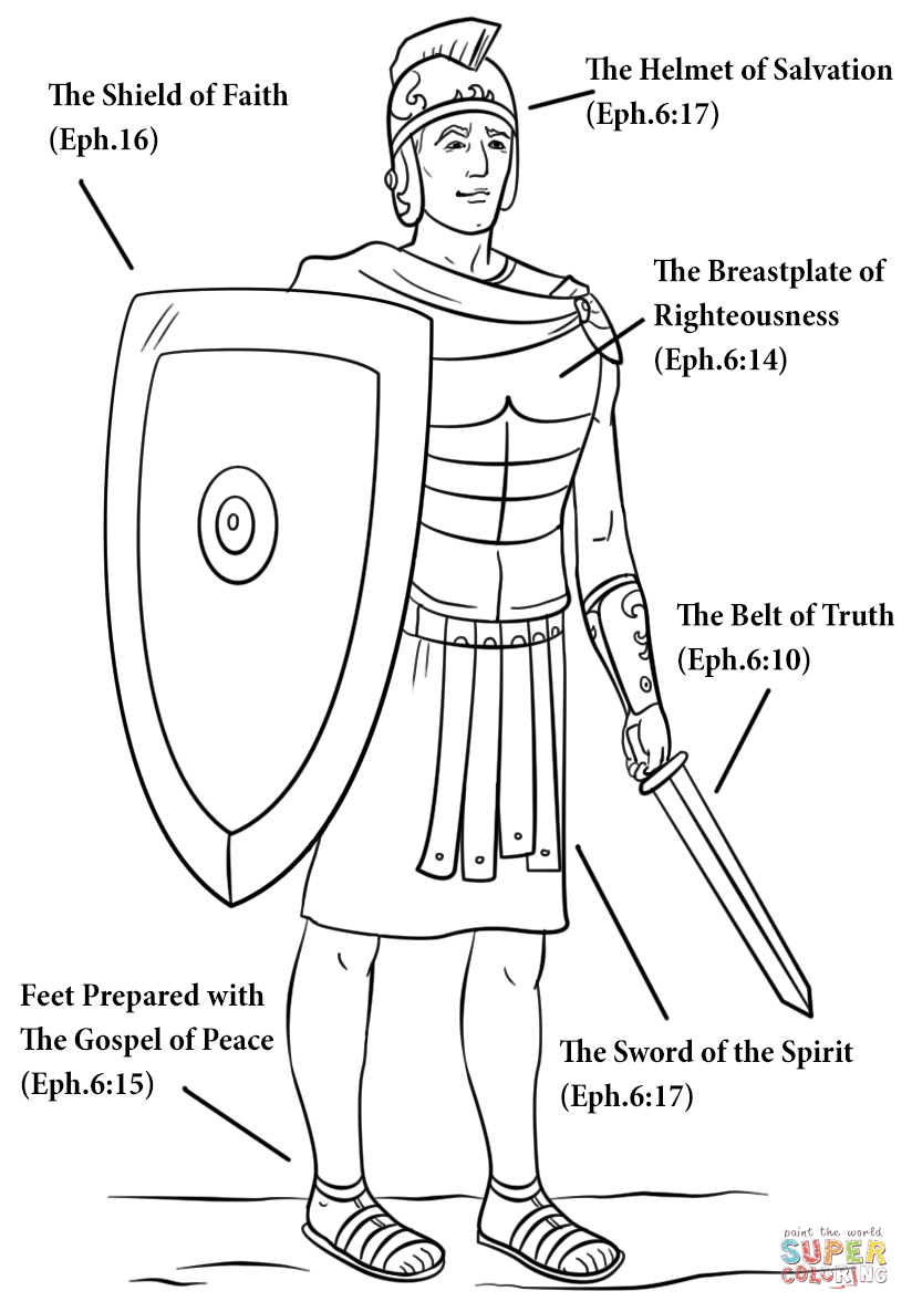 armor of god coloring pages free coloring pages for armor of god coloring home coloring pages of armor god