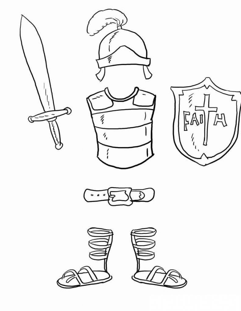 armor of god coloring pages full armor of god coloring sheet sketch coloring page god armor of coloring pages