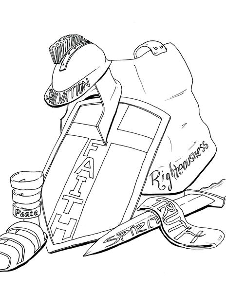 armor of god coloring pages image from httpspracticalpagesfileswordpresscom2010 armor pages coloring of god