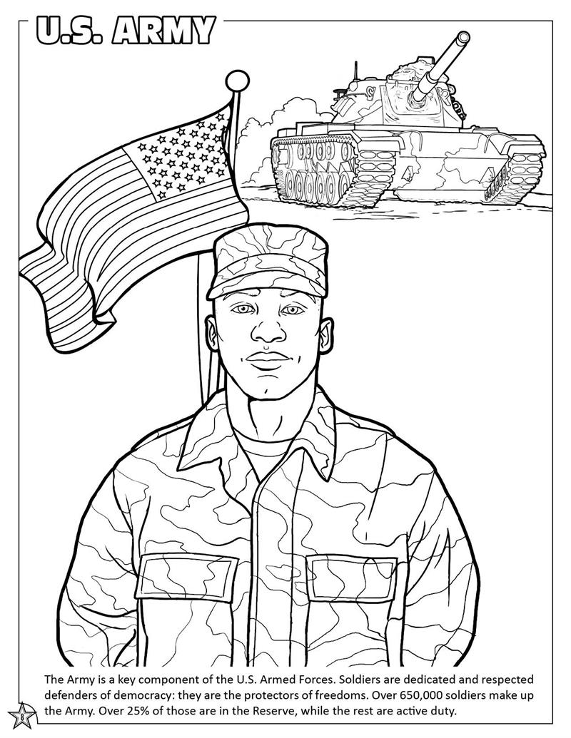 army coloring pictures army coloring pages for kids at getdrawings free download army pictures coloring