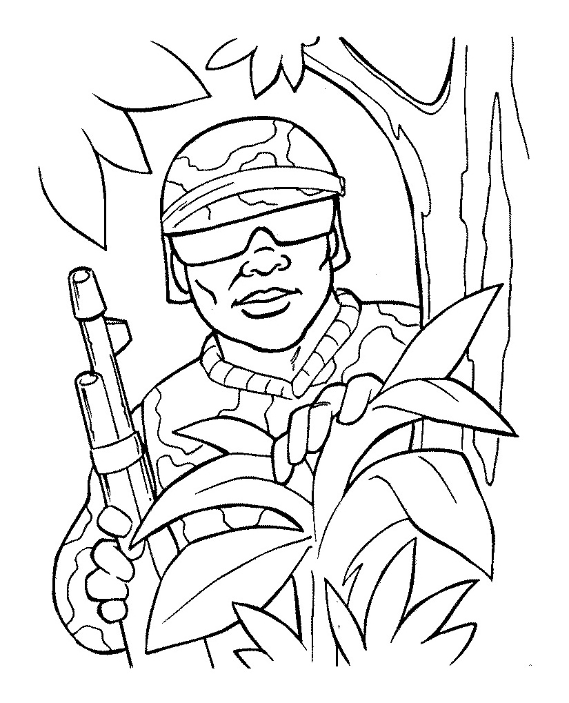 army man coloring page army coloring pages soldier free page army coloring man