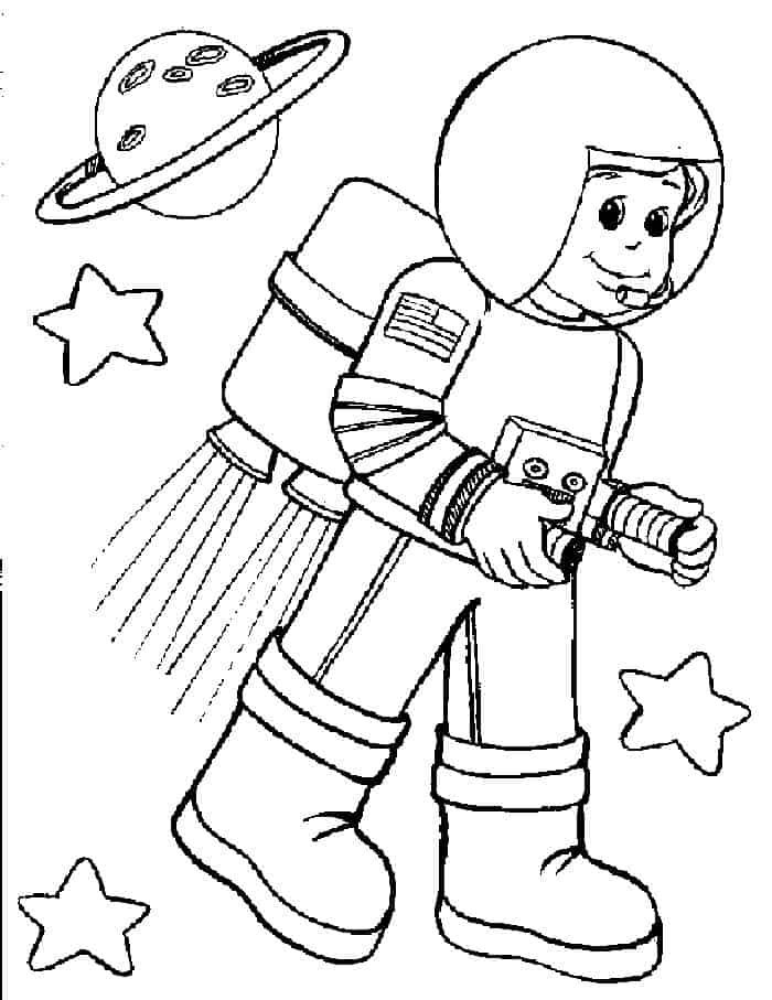 astronaut for coloring astronaut coloring pages at getdrawings free download for astronaut coloring