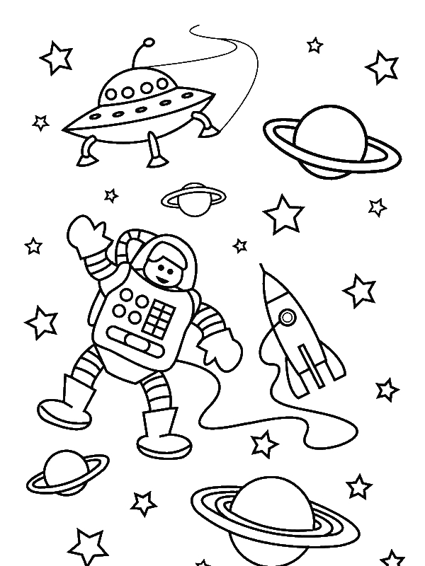 astronaut for coloring astronaut coloring pages for preschoolers 1 preschool for coloring astronaut