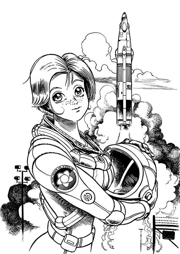 astronaut for coloring astronaut on shuttle mission space travel coloring pages coloring astronaut for