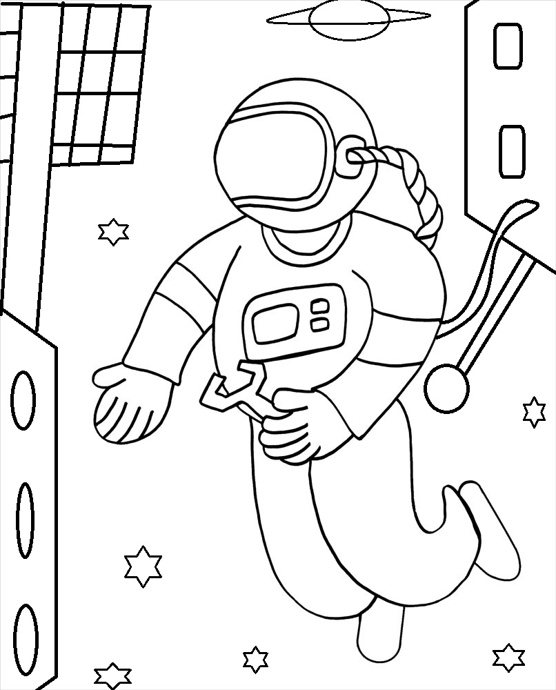 astronaut for coloring free printable astronaut coloring pages for kids coloring for astronaut
