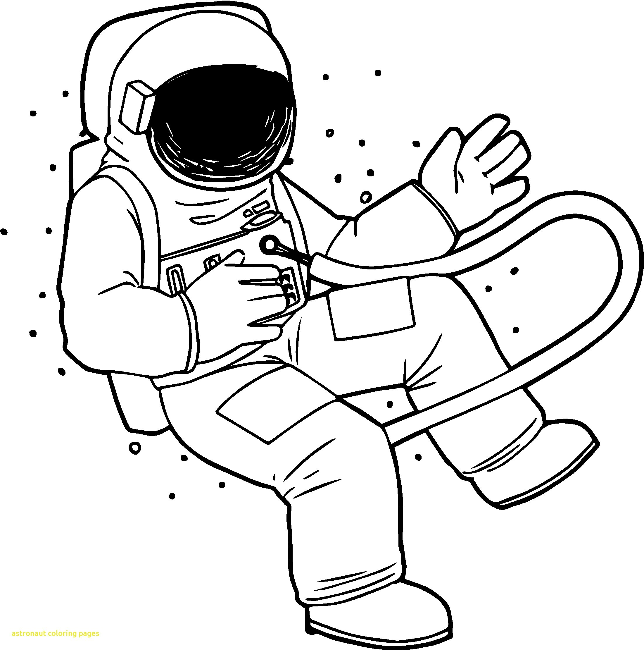 astronaut for coloring free printable astronaut in space pdf coloring page coloring for astronaut