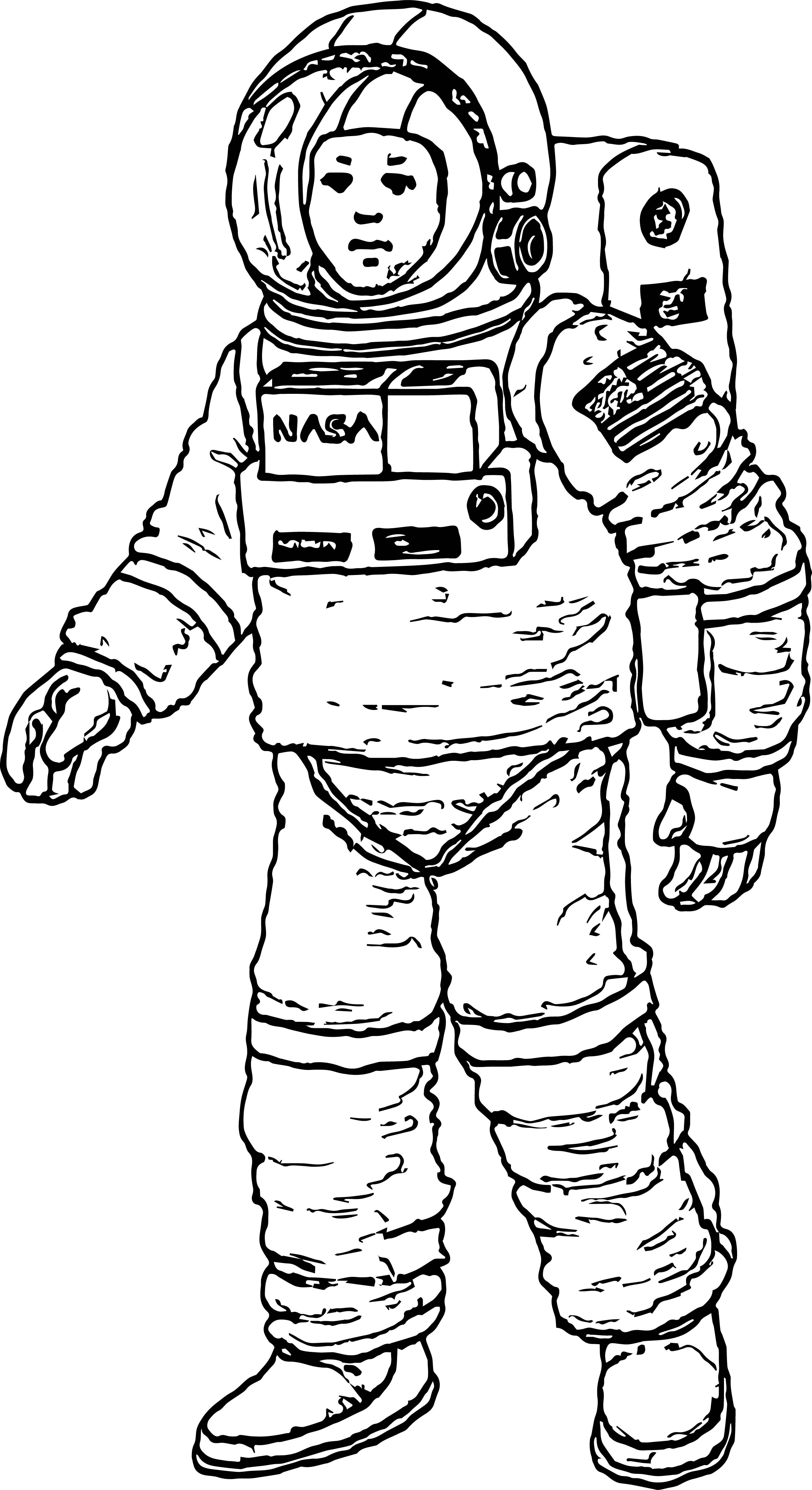 astronaut for coloring printable astronaut coloring pages for kids cool2bkids for coloring astronaut