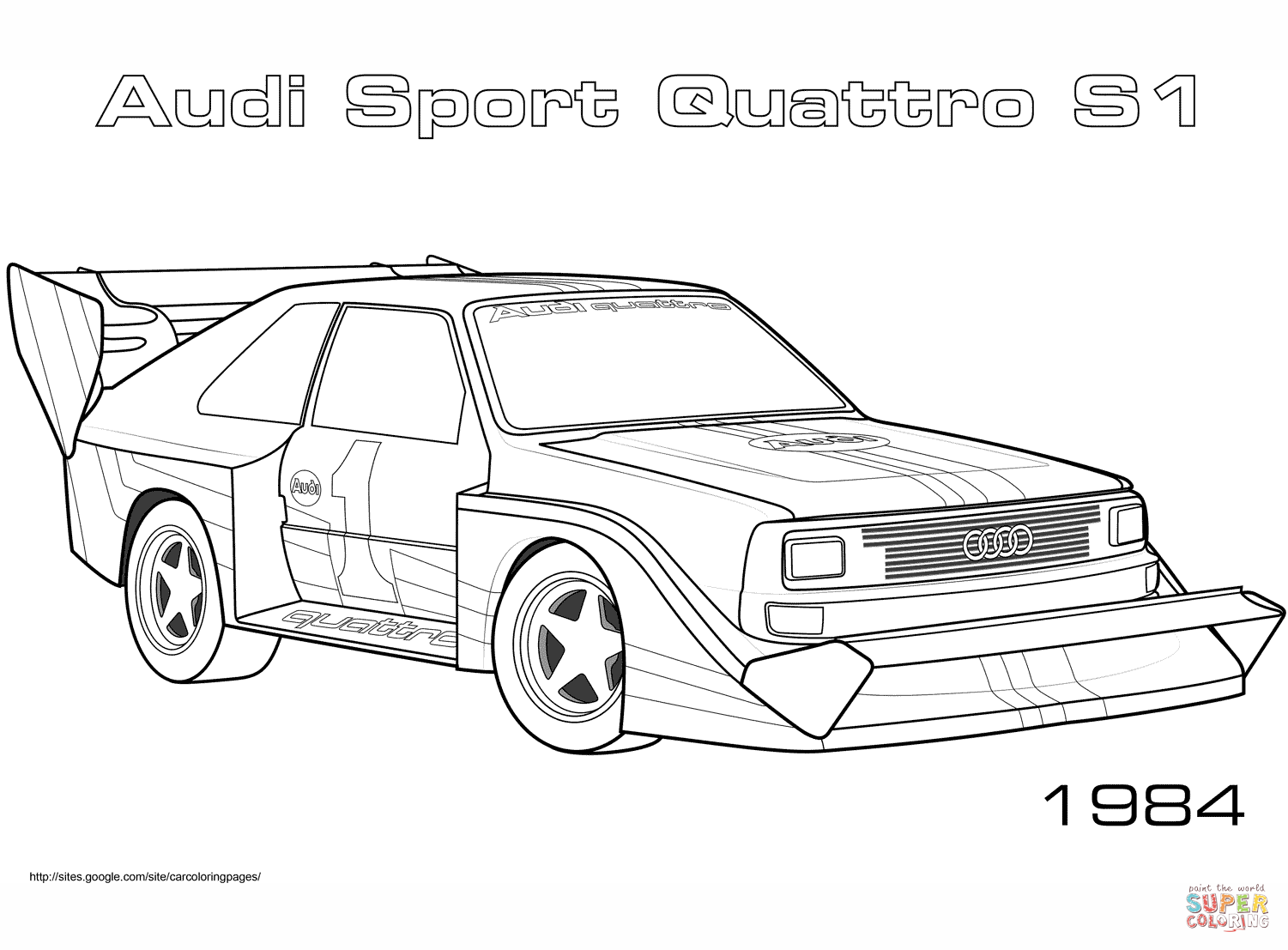 audi coloring sheet 17 free sports car coloring pages for kids save print coloring sheet audi