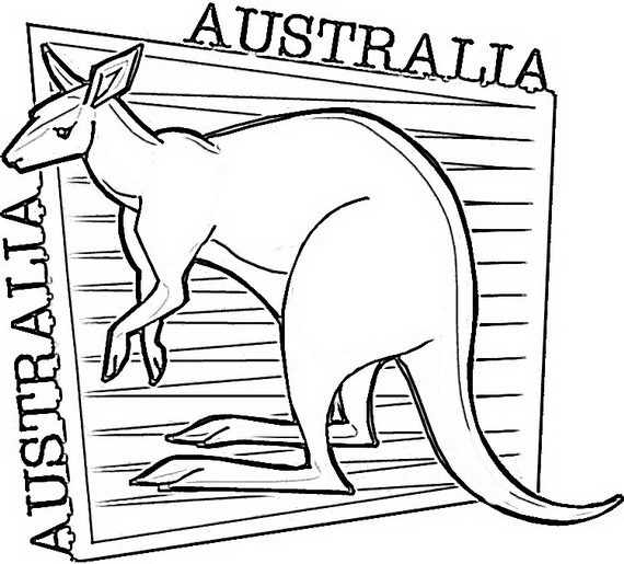 australia coloring pages australia day coloring pages for kids family holidaynet australia coloring pages