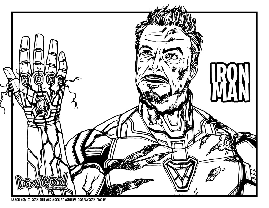avengers endgame coloring pictures coloring pages coloring avengers endgame pictures