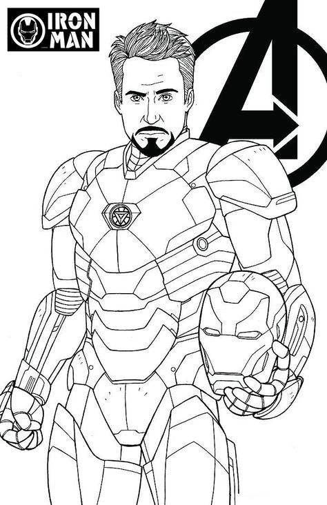 avengers endgame coloring pictures how to draw iron man avengers endgame drawing tutorial endgame pictures coloring avengers