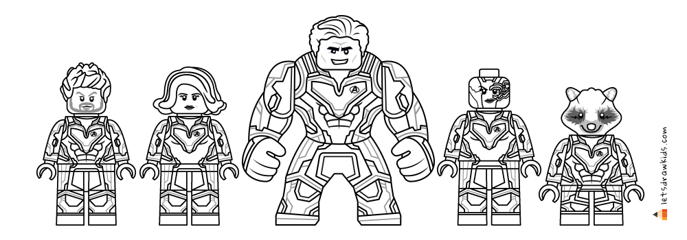 avengers endgame coloring pictures how to draw thanos avengers endgame drawing tutorial pictures coloring avengers endgame