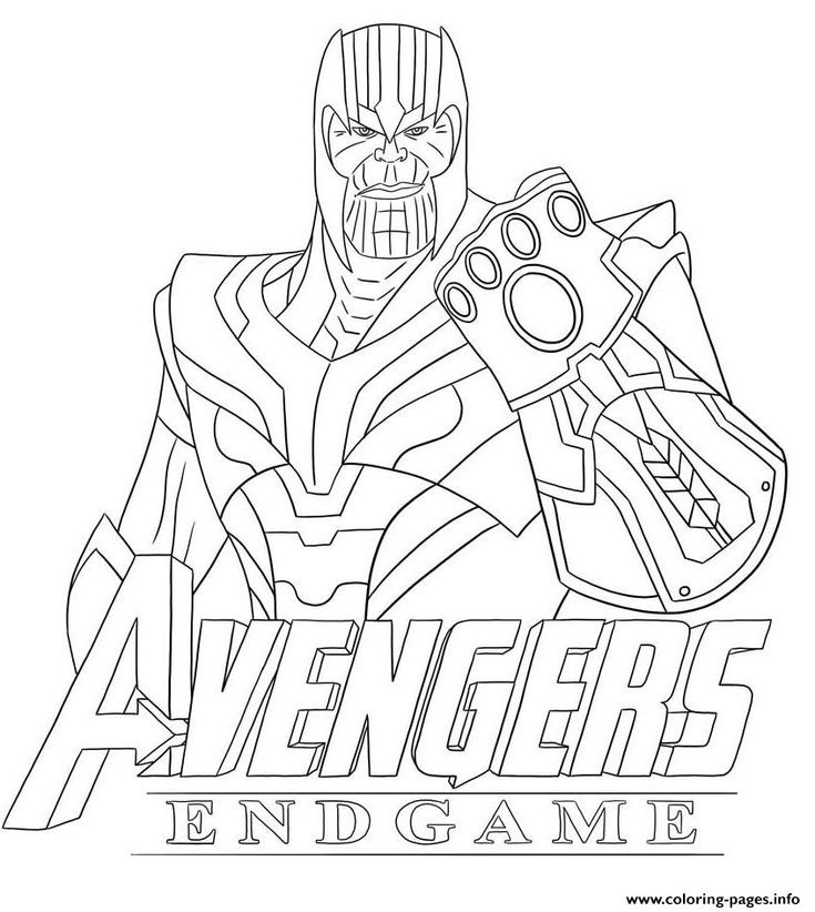 avengers endgame coloring pictures print thanos avengers endgame skin from fortnite coloring avengers pictures endgame coloring